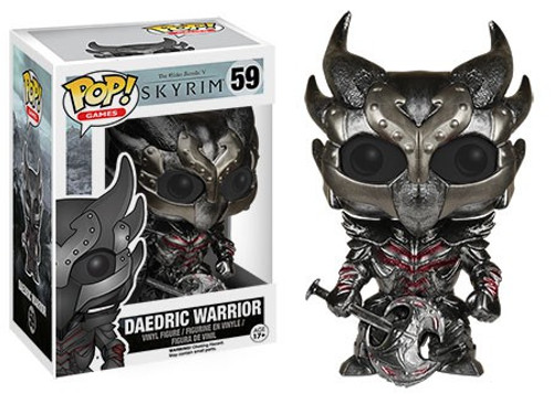Funko The Elder Scrolls V: Skyrim POP! Games Daedric Warrior Vinyl Figure #59
