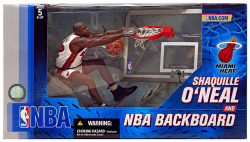 McFarlane Toys NBA Miami Heat Sports Picks Exclusive Shaquille O'Neal Deluxe Exclusive Action Figure
