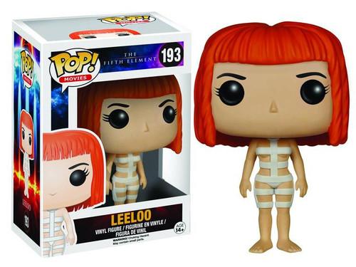 Funko The Fifth Element POP! Movies Straps Leeloo Vinyl Figure #193