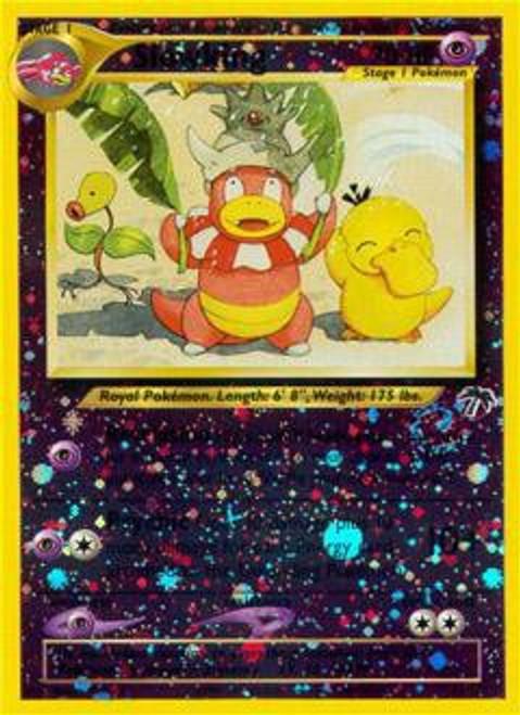 Pokemon Southern Islands Rare Reverse Holo Slowking #14