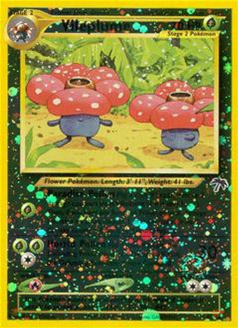 Pokemon Southern Islands Rare Reverse Holo Vileplume #17