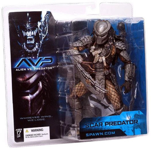 McFarlane Toys Alien vs Predator Alien vs. Predator Movie Scar Predator Action Figure