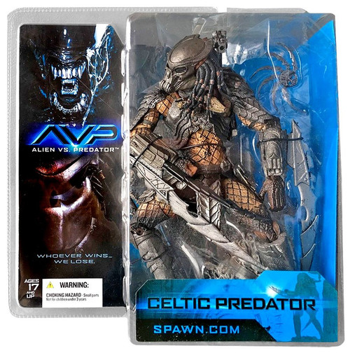 McFarlane Toys Alien vs Predator Alien vs. Predator Movie Celtic Predator Action Figure