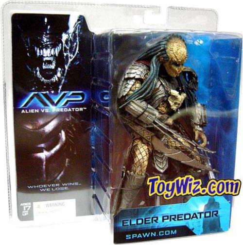 McFarlane Toys Alien vs Predator Alien vs. Predator Movie Elder Predator Action Figure