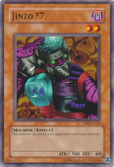 YuGiOh Dark Beginning 1 Common Jinzo #7 DB1-EN162