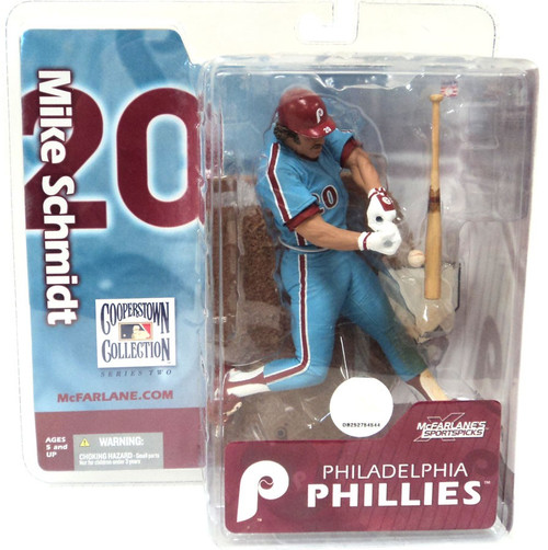 McFarlane Toys MLB Cooperstown Collection Series 2 Mike Schmidt Action Figure
