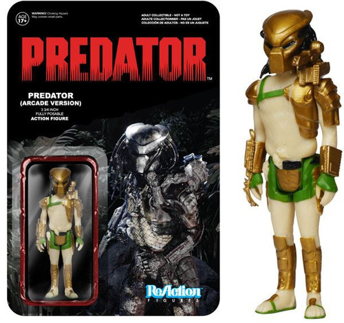 Funko ReAction Predator Exclusive Action Figure [Arcade Version]