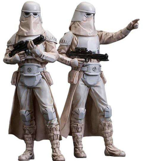 Star Wars The Empire Strikes Back ArtFX+ Snowtrooper Statue 2-Pack