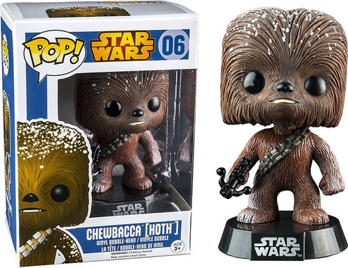 Funko The Empire Strikes Back POP! Star Wars Chewbacca Vinyl Bobble Head #06 [Hoth]