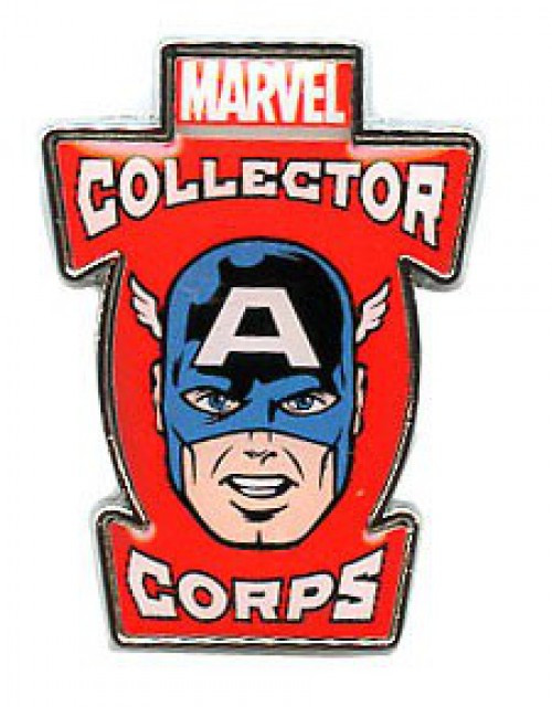 Funko Marvel Collector Corps Captain America Exclusive Pin