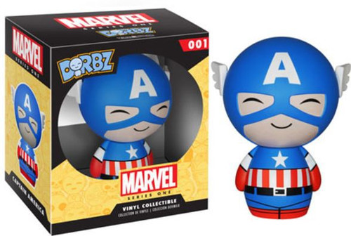 Funko Marvel Dorbz Captain America Vinyl Figure #01