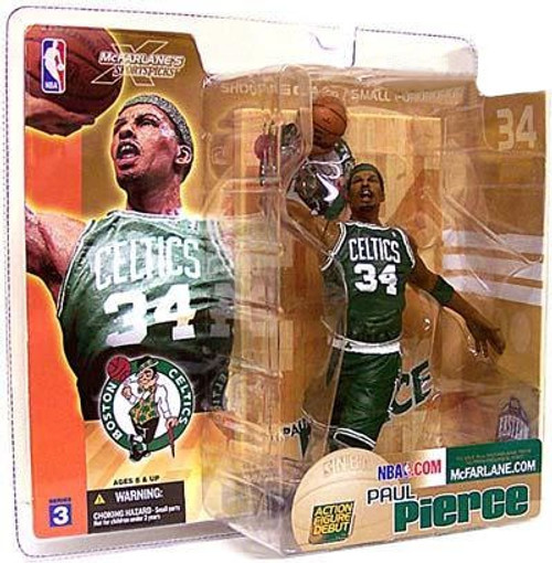 McFarlane Toys NBA Boston Celtics Sports Picks Series 3 Paul Pierce Action Figure [Green Jersey]