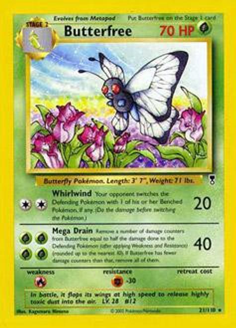 Pokemon Legendary Collection Rare Butterfree #21