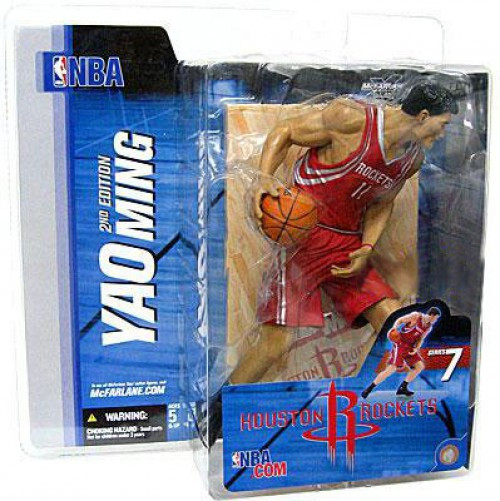 McFarlane Toys NBA Houston Rockets Sports Picks Series 7 Yao Ming Action Figure [Red Jersey]