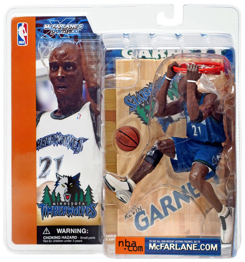 McFarlane Toys NBA Minnesota Timberwolves Sports Picks Series 1 Kevin Garnett Action Figure [Blue Jersey Variant]