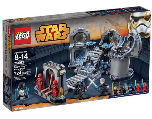 LEGO Star Wars Return of the Jedi Death Star Final Duel Set #75093