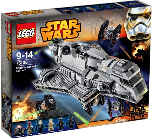 LEGO Star Wars Rebels Imperial Assault Carrier Set #75106