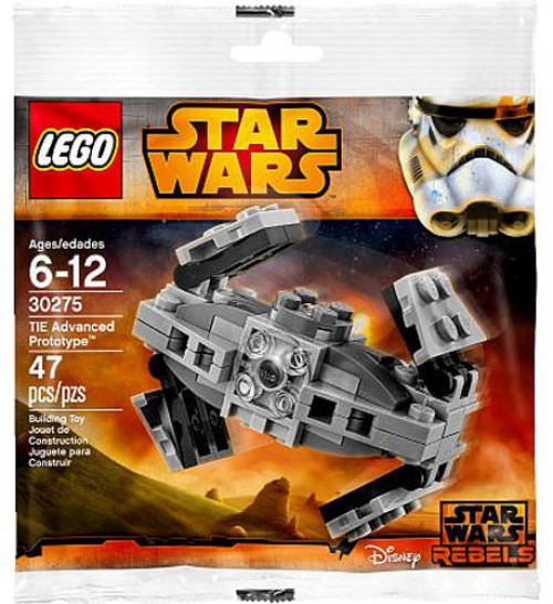 LEGO Star Wars Rebels TIE Advanced Prototype Set #30275 [Bagged]