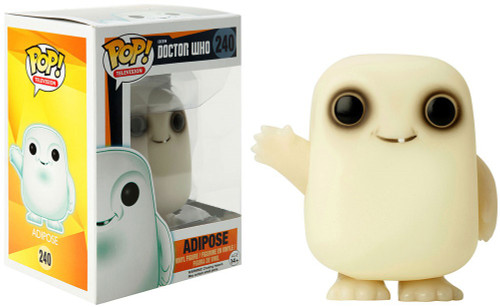Funko Doctor Who POP! TV Adipose Exclusive Vinyl Figure #225 [Glows-In-The-Dark]