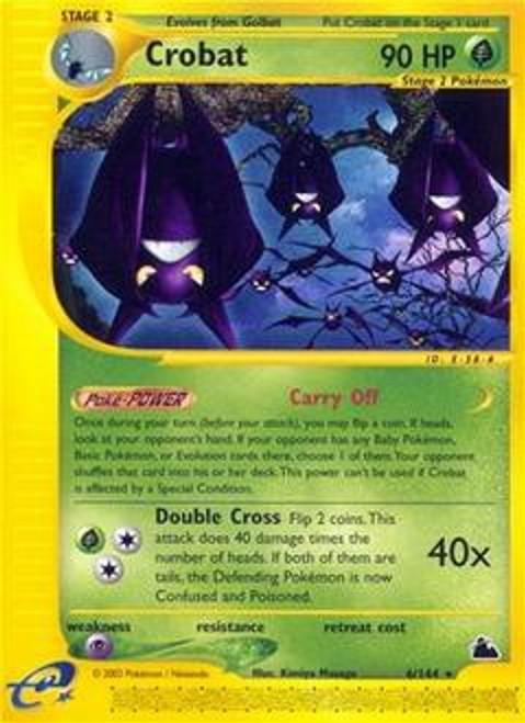 Pokemon Skyridge Rare Crobat #6