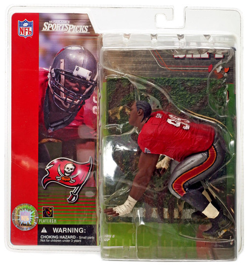 McFarlane Toys NFL Tampa Bay Buccaneers Sports Picks Series 1 Warren Sapp Action Figure [No Helmet Variant]