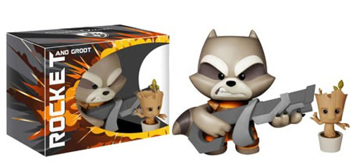 Funko Marvel Rocket Raccoon & Baby Groot 7-Inch Super Deluxe Vinyl Figure