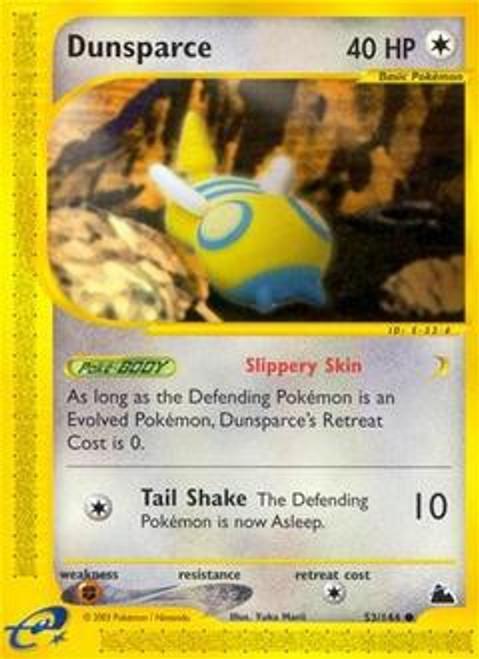 Pokemon Skyridge Common Dunsparce #53
