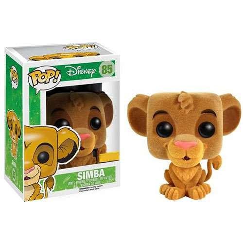 Funko The Lion King POP! Disney Simba Exclusive Vinyl Figure #85 [Flocked]