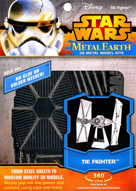 Metal Earth Star Wars TIE Fighter 3D Metal Model Kit