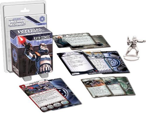 Star Wars Imperial Assault Kayn Somos Villain Pack