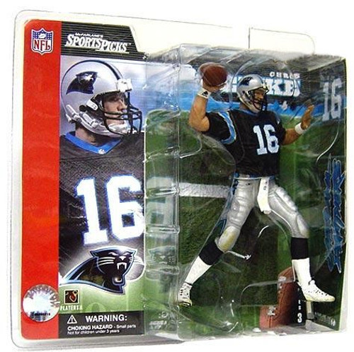 McFarlane Toys NFL Carolina Panthers Sports Picks Series 3 Chris Weinke Action Figure