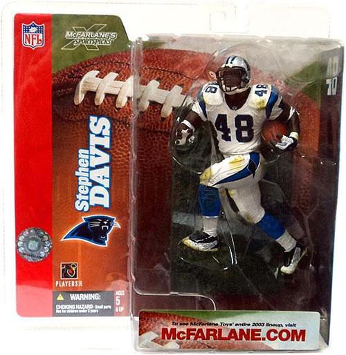 McFarlane Toys NFL Carolina Panthers Sports Picks Series 6 Stephen Davis Action Figure [White Jersey Variant]