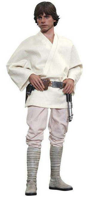 Star Wars A New Hope Movie Masterpiece Luke Skywalker Collectible Figure [A New Hope]