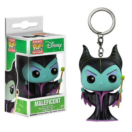 Funko Sleeping Beauty POP! Disney Maleficent Keychain