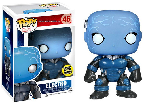 Funko The Amazing Spider-Man POP! Marvel Electro Vinyl Bobble Head #46 [Glow-in-the-Dark]