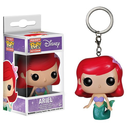 Funko The Little Mermaid POP! Disney Ariel Keychain