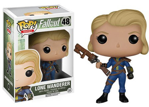 Funko Fallout POP! Games Lone Wanderer (Female) Vinyl Figure #48