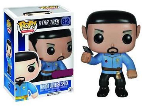 Funko Star Trek The Original Series POP! TV Mirror Universe Spock Exclusive Vinyl Figure #82