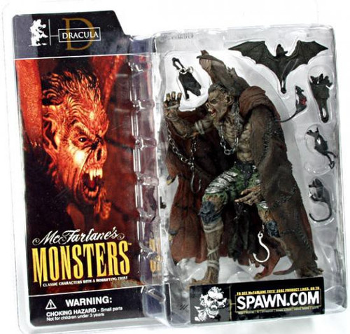 McFarlane Toys McFarlane's Monsters Series 1 Dracula Action Figure [Clean Package]