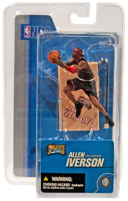 McFarlane Toys NBA Philadelphia 76ers Sports Picks 3 Inch Mini Series 3 Allen Iverson Mini Figure