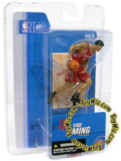 McFarlane Toys NBA Houston Rockets Sports Picks 3 Inch Mini Series 3 Yao Ming Mini Figure