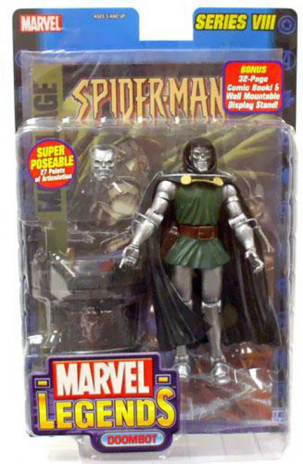 Marvel Legends Series 8 Dr. Doom Action Figure [Doombot Variant]