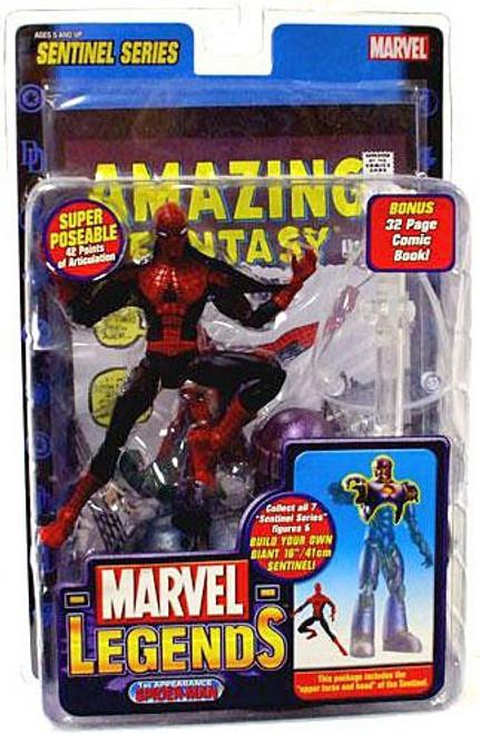 Marvel Legends Series 10 Sentinel 1st Appearance Spider-Man Action Figure