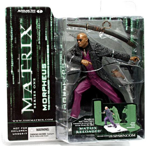 McFarlane Toys The Matrix Matrix Reloaded Series 1 Morpheus Action Figure