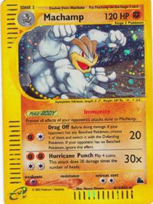 Pokemon Skyridge Rare Holo Machamp H15