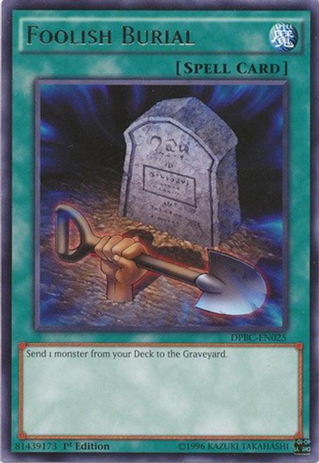 YuGiOh Duelist Pack Battle City Rare Foolish Burial DPBC-EN025