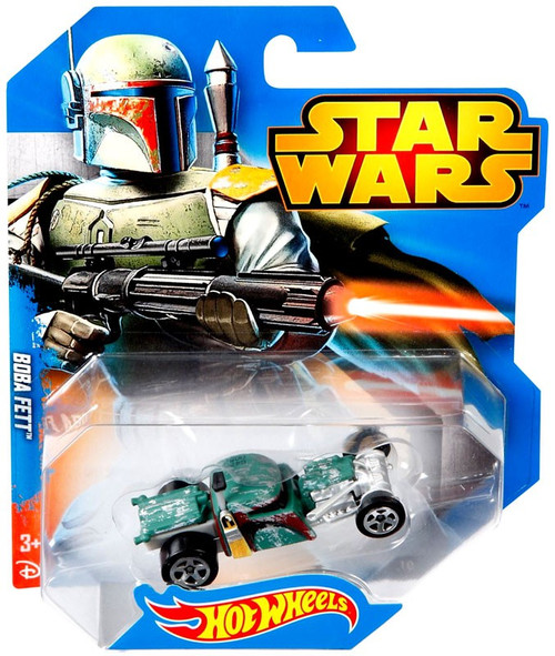 Hot Wheels Star Wars Boba Fett Die-Cast Car