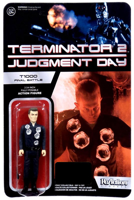 Funko Terminator 2 Judgment Day ReAction T-1000 Officer Exclusive Action Figure [Final Battle]