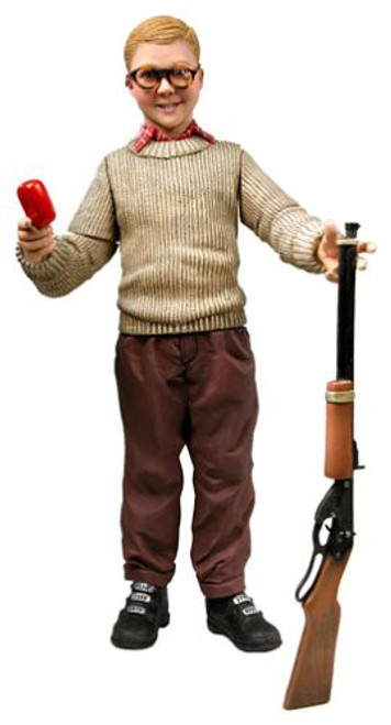 NECA A Christmas Story Ralphie Deluxe Action Figure [With Sound]