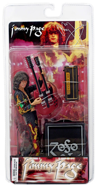NECA Led Zeppelin Jimmy Page Action Figure